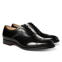 churchs leather brogues