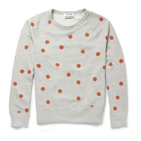 college dot sweatshirt