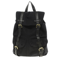 contrast strap backpack