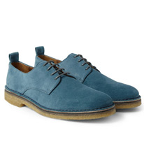 crepe derby shoes