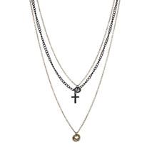 cross cog necklace