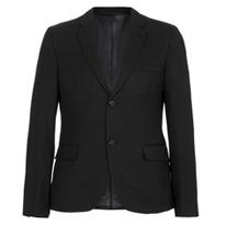 dobby black jacket