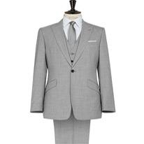 garda lapel suit