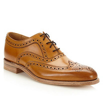 loake leather brogues