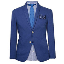 mango cotton blazer