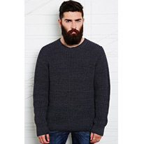 navy fisherman jumpers
