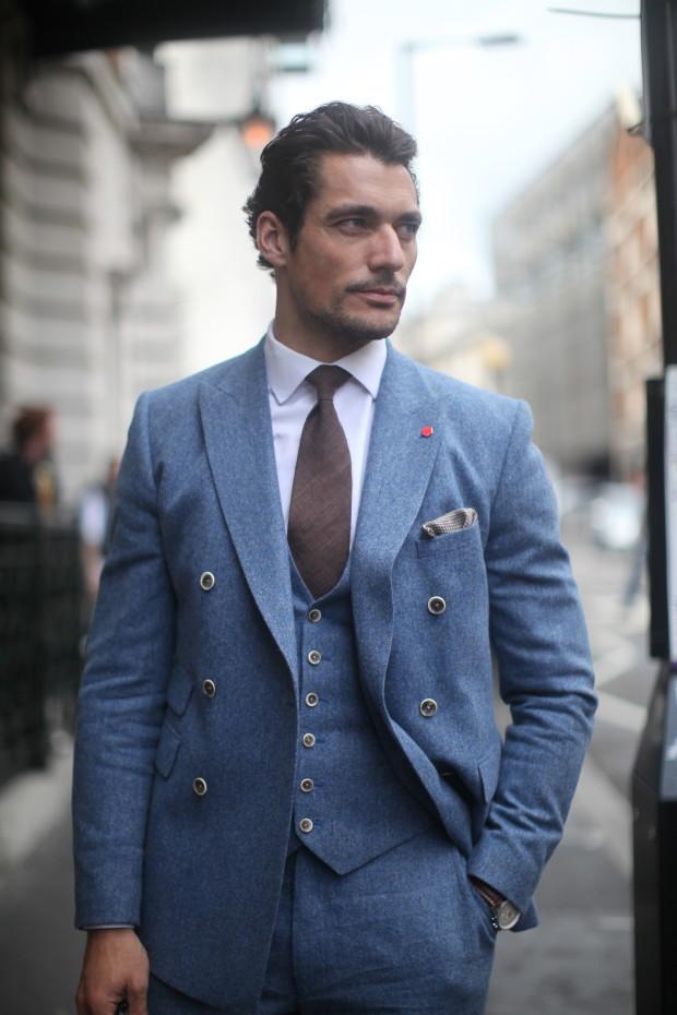 david gandy in tweed