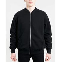 black oversize jacket