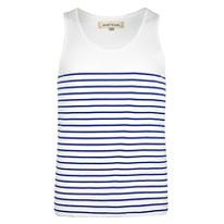 breton striped vest