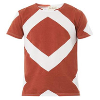 diamond cotton tee
