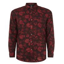diesel rose shirt