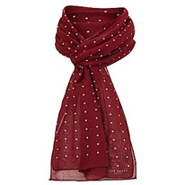 dot pattern scarfs