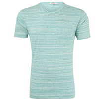 green speckled tee
