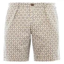 jacquard front shorts
