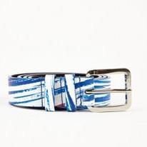 kenzo blue belts