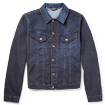 overdyed denim jacket