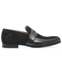 penet leather loafers