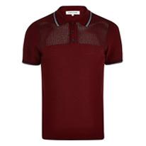 red mesh shirt