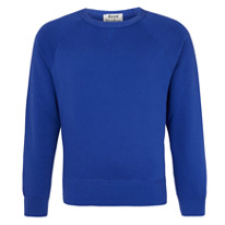 acne blues sweatshirts