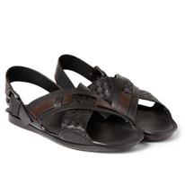 intrecciato sandals