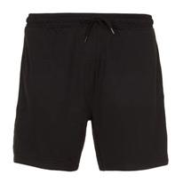 mesh black shorts