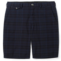 plaid beams shorts