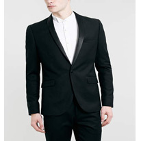 skinny jacquard suits