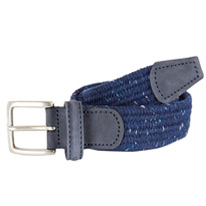 speckled navy belts