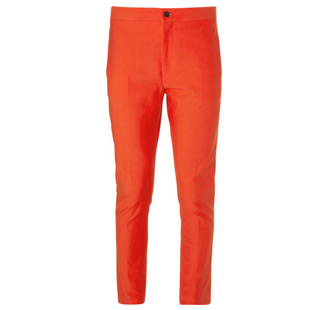brandy red trousers