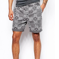 chinos grey shorts