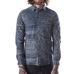 folk navy shirt