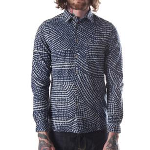 folk navy shirt