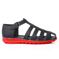 rubberised sandals