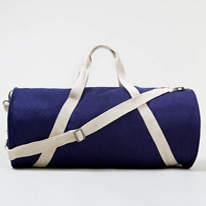 barrell canvas bags