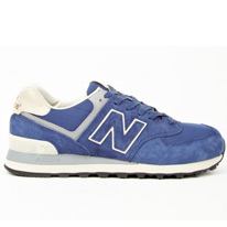 blue okini sneakers
