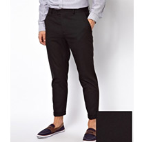 cropped smart trouser