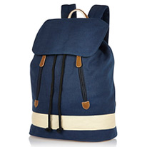 denim river backpack