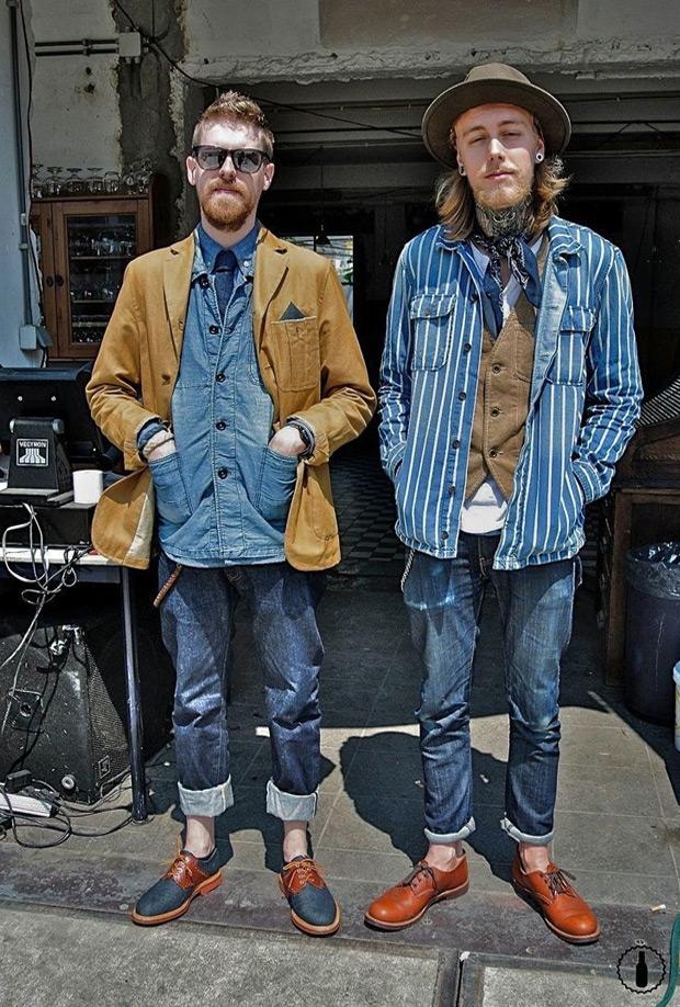Double Double Denim Mens Fashion Magazine