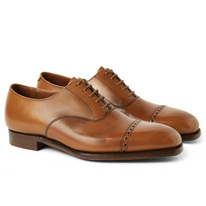 leather george brogues