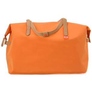 ornage weekend bag
