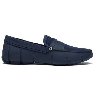 penny loafer navy