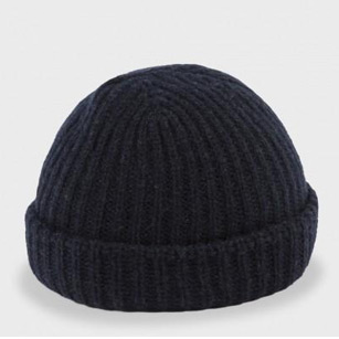 ribbed wool hats