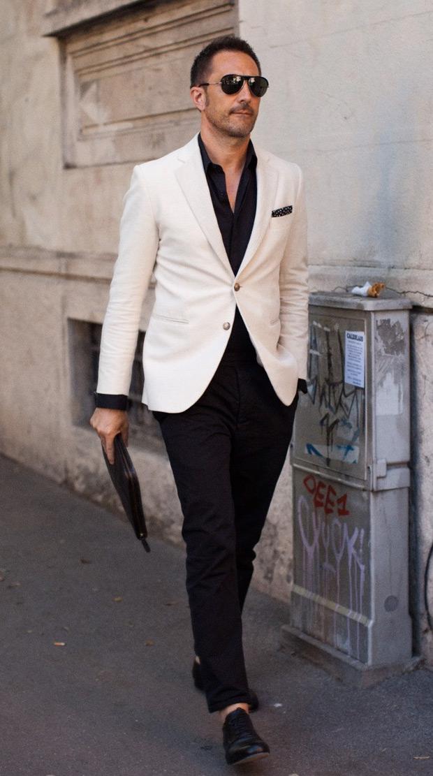 Simple Black & White | Mens Fashion Magazine