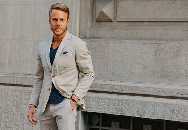 How To Wear Suits With T-Shirts