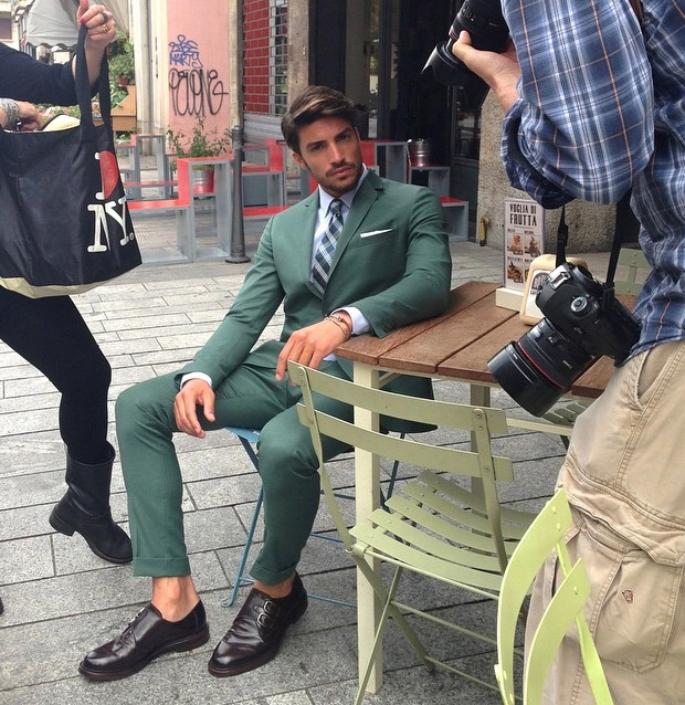 Green Suits For Men Green Suit