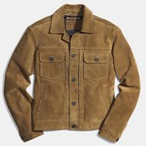 jean suede jackets
