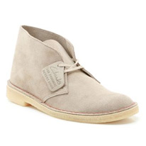 sand clarks boots