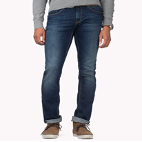 hilfiger straight jeans
