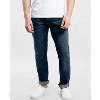 regular dark jeans