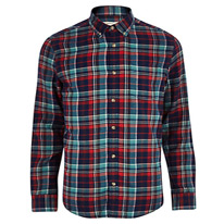 river checked shirt